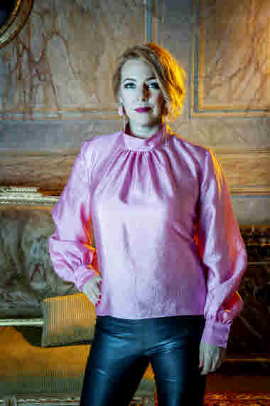 Madeleine Bäck, Skräcktimmen. Foto: Camilla Lindqvist.