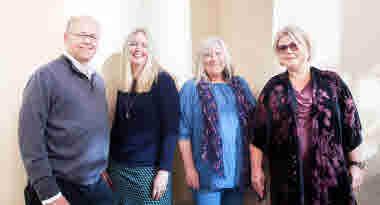David Edfelt, Annelie Karlsson, Ann Lindgren, Anna Sjölund