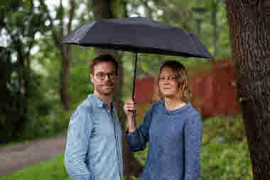 Anna Liljemalm och Erik Abel