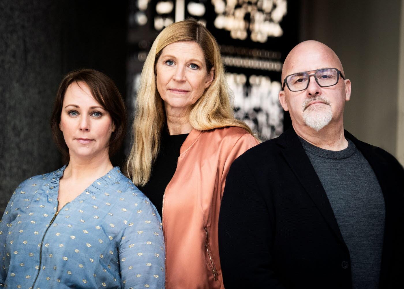 Sofia Sjöberg, Sara Henrysson Eidvall och Anders Sjöberg