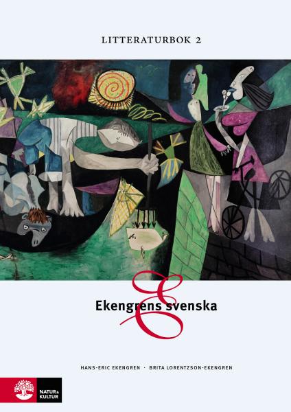 Ekengrens svenska 3:e upplagan  Litteraturbok 2