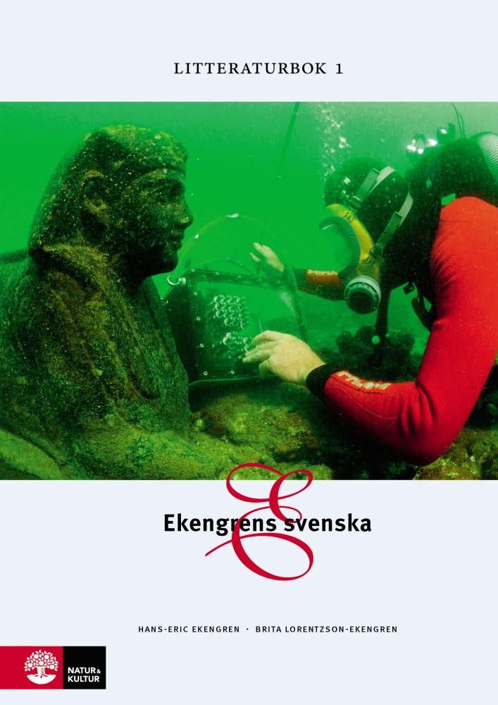 Ekengrens svenska 3:e upplagan  Litteraturbok 1