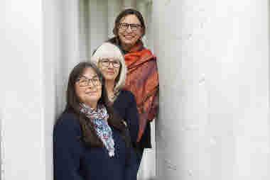 Kerstin Svensson, Eva Johnsson, Leili Laanemets