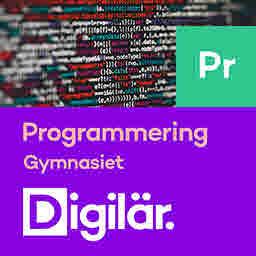 Digilär Programmering för gymnasiet