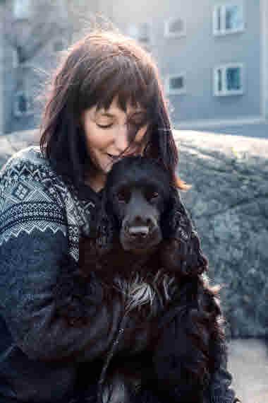 Alice Kassius Eggers, Handbok för hundägare foto Linda Prieditis