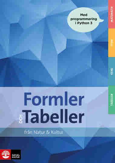 Formler och tabeller
