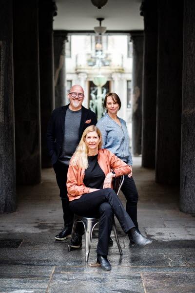 Anders Sjöberg, Sara Henrysson Eidvall och Sofia Sjöberg