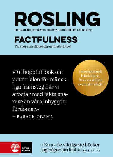 Factfulness (mjukband) av Hans Rosling, Anna Rosling Rönnlund och Ola Rosling