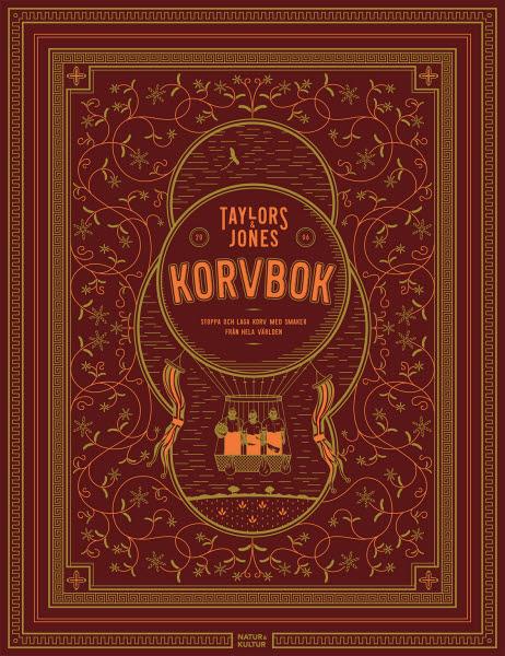Taylor & Jones korvbok av Kerim Akkoc, David Taylor, Gareth Jones och Herman Rasmuson jpg