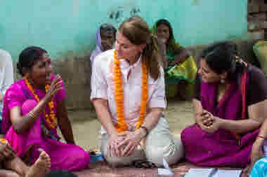 Pressbilder Kvinnor som förändrar världen av Melinda Gates