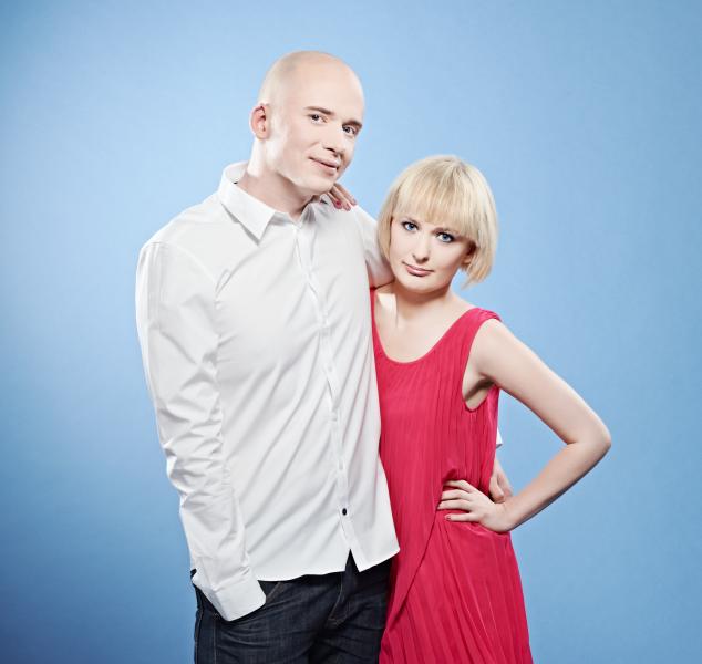 Daniel Åberg och Johanna Ögren
