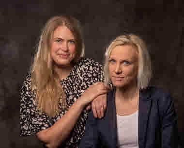 Sara Dellner och Erika Baraldi Foto: Elisabeth Ohlson